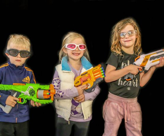 Nerf Party at the Battlearium