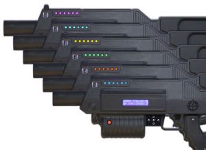 Rifles we use at Battlearium are for Tactical Laser Tag experiences