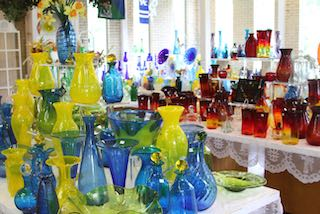 Fun in the Huntington area visit the Blenko Glass Factory.