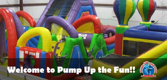 Play some time at Pump Up the Fun